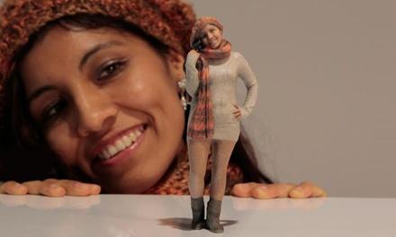 3D-Miniatur-Figur der eigenen Person erstellen lassen bei 3DyourBody (50% sparen*)