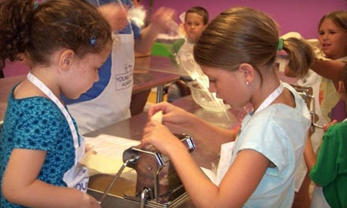 Young Chefs Academy - Multiple Locations: One or Three Kids' Cooking Classes, or $25 for $50 Worth of Classes and Services at Young Chefs Academy