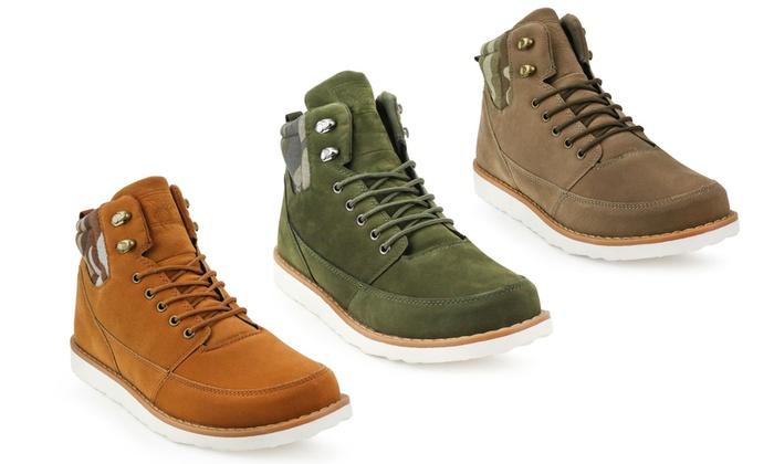24379e7e2cb36 Up To 66% Off on Xray Men's Classon Mid-Top Boots | Groupon Goods