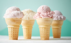 Applegate Farm: Homemade Ice Cream at Applegate Farm (Up to 47% Off). Two Options Available.