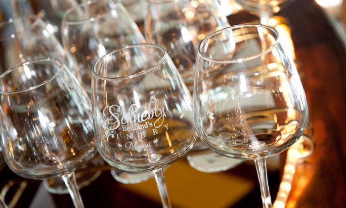 33 For Wine Taste Package Two On Friday Or Saay At Schnebly Redland S Winery Up To 51 Off