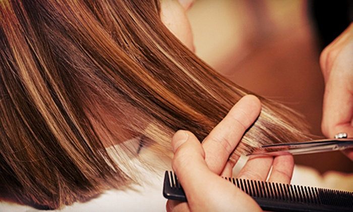 Kristi Mayo at Shear Perfection - Western Hills: Haircut Package with Deep Conditioning and Optional Highlights from Kristi Mayo at Shear Perfection (Up to 68% Off)