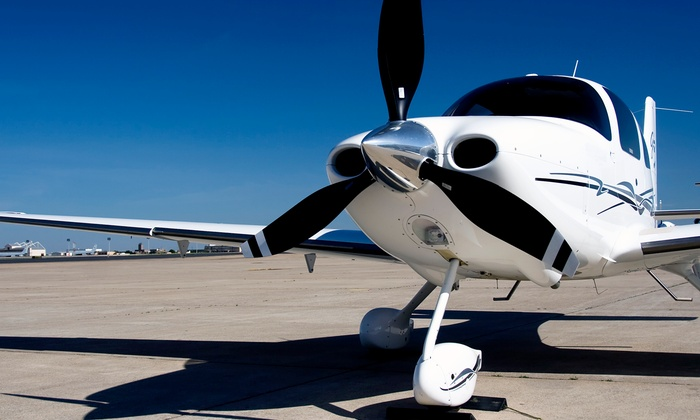 Bountiful Flight - Woods Cross: 30- or 60-Minute Intro Flight for Up to Three People at Bountiful Flight (Up to 45% Off)