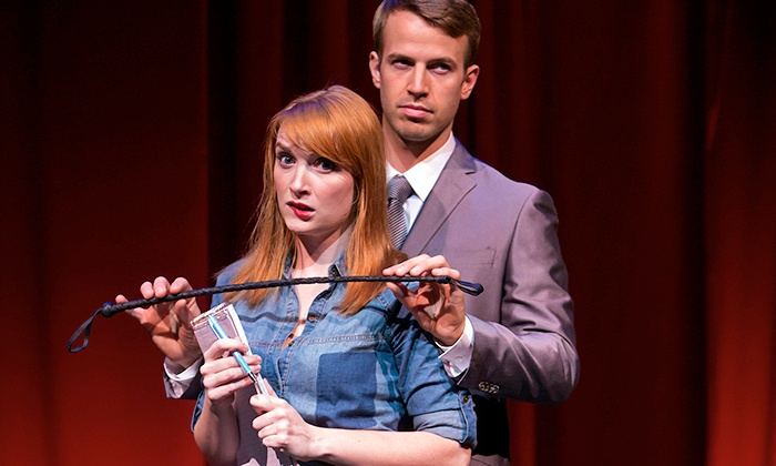 """""""Spank! The Fifty Shades Parody"""" - Crown Theatre: """"Spank! The Fifty Shades Parody"""" at Crown Complex on Friday, October 3, at 8 p.m. (Up to 51% Off)"""