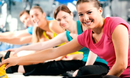 One or Three-Month Gym Membership with Unlimited Classes from Gold's Gym (Up to 54% Off)
