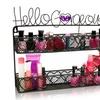Hello Gorgeous Nail Polish Wall Shelf