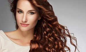 Harmony Hair Studio & Spa: One or Four Blowouts, or One Blowout & Color or Partial Highlights at Harmony Hair Studio & Spa (Up to 52% Off)