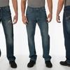 Request Men's Slim Straight-Leg Jeans