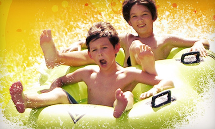 Splashway Waterpark - Weimar: $12.49 for a Water-Park Outing at Splashway Waterpark (Up to $24.99 Value)