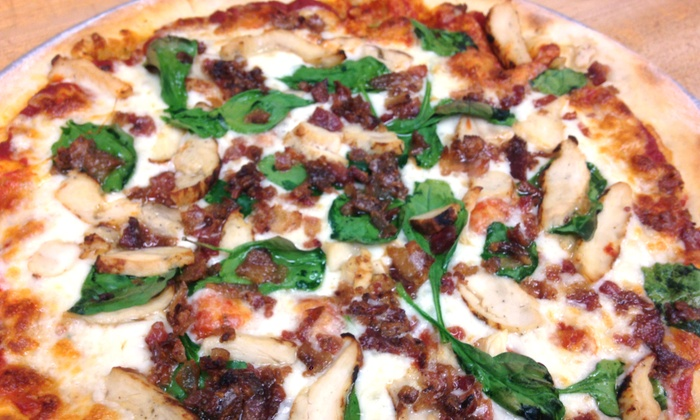 8 Buck Pizza Truck - Manteca: $10 for $20 Worth of Pizza from 8 Buck Pizza Truck