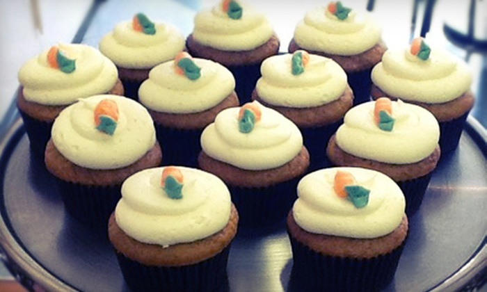 Mo's Sweet Minis - Carver: One Dozen Mini Cupcakes, Six Full-Size Cupcakes, or $10 for $20 Worth of Baked Goods at Mo's Sweet Minis