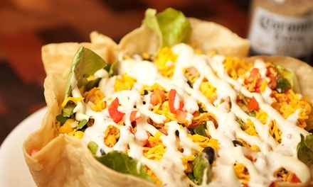 $15 for $30 Worth of Mexican Cuisine and Drinks at Fuego Cantina