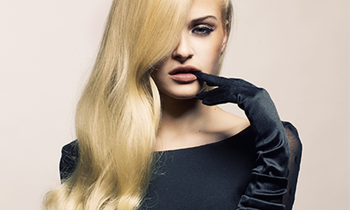 Blondie's Salon - Shafer Plaza: $99 for a Agave Hair-Smoothing Treatment at Blondie's Salon ($200 Value)
