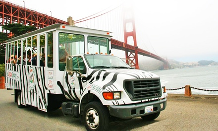 San Francisco Urban Safari Tour for Two, Four, or Six from The Urban Safari (Up to 55% Off)