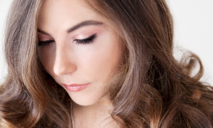 The Brow and Lash Zone - Multiple Locations: Half or Full Set of Lash Extensions with Add-Ons at The Brow & Lash Zone (Up to 51% Off)