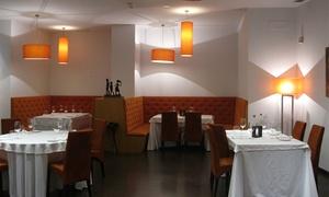 Pandemonium: Menú degustación para dos con 3 aperitivos, 2 entrantes, principal, postre y bebida por 49,95 € en Pandemonium