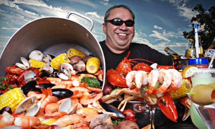 Poppy's Crazy Lobster Bar and Grill - Destin Harbor: $25 for $50 Worth of Steak, Seafood, Hurricanes, and Other Drinks at Poppy's Crazy Lobster Bar and Grill