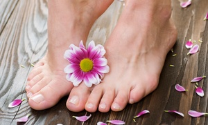 Studio 101 Salon & Spa: Mani-Pedi for One or Two at Studio 101 Salon & Spa (Up to 57% Off)