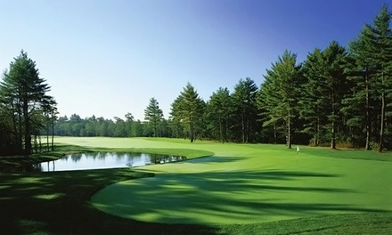 [$69 for 18-Hole Round of Golf Including Cart and Range Balls at Pinehills Golf Club (Up to $110 Value) Image]