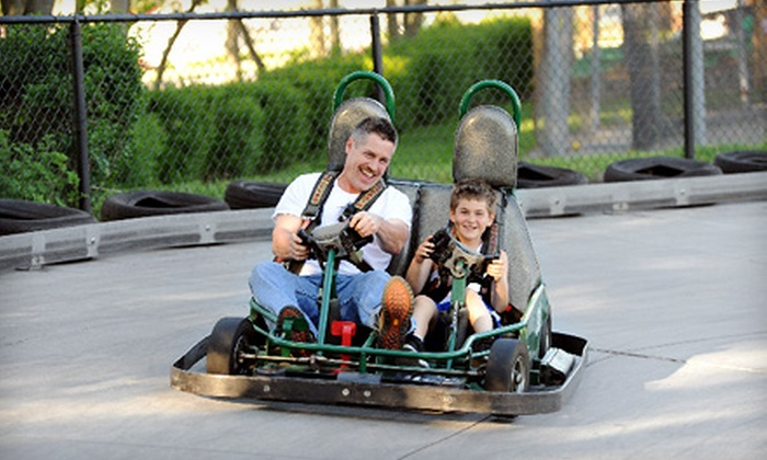 Selden Batting & Grand Prix - Selden: Batting Cages, Go-Karts, and Arcade Games at Selden Batting & Grand Prix (Up to 57% Off). Two Options Available.