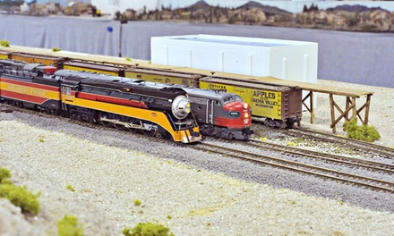 Two or Four Adult Tickets with Parking at The Big Train Show (Up to 56% Off)