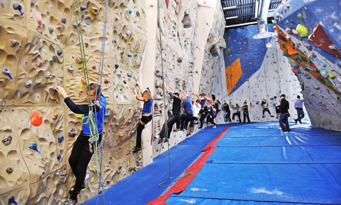 Toronto Climbing Academy - Toronto Climbing Academy: Climbing Lesson and 2 Weeks of Climbing with Gear Rental for 1 or 2 at Toronto Climbing Academy (Up to 57% Off)