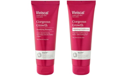 Viviscal Gorgeous Growth Densifying Shampoo, Conditioner, or Set