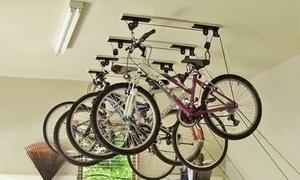 Support lève-vélo de plafond