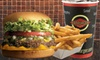 Fatburger - Canada (Old Acct) DUPE - Capri Centre: $7 for a Fatburger with Cheddar Cheese, Fries, and a Bottomless Drink at Fatburger ($12.67 Value)
