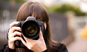 T World Studio: Four-Hour Photography Workshop from £20 with T World Studio (Up to 85% Off)