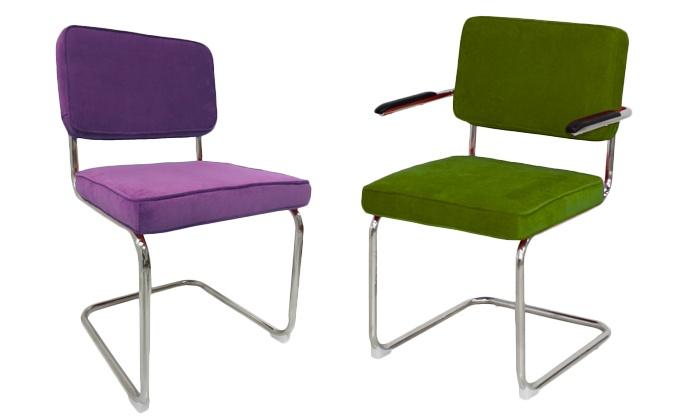 Stoel Met Leuning : Breazz design stoel en groupon goods