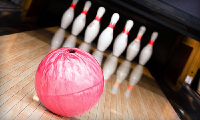 Broken Arrow Lanes Bowling Center - Arrow Springs: $15 for Weeknight Bowling for Four with Shoe Rental at Broken Arrow Lanes ($32 Value)