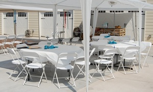 WCS Party Rentals Memphis: $59 for $90 Worth of Party Supplies — WCS Party Rentals Memphis