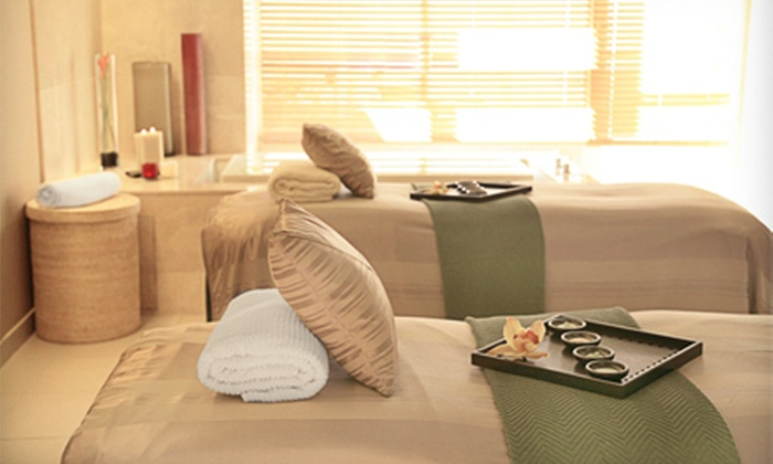 Spa at InterContinental LA - SPA InterContinental: Swedish Massage with Optional Custom Facial at Spa at InterContinental LA (Up to 46% Off)