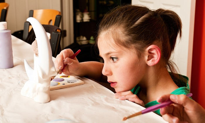 Talking Rock Pottery - Jasper: Birthday-Party Package for Eight or $25 for $50 Worth of Pottery Painting at Talking Rock Pottery