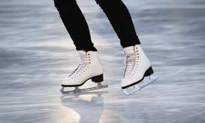 Ice Town-riverside: Open-Skate Admission with Skate Rental for Two or Four at IceTown (Up to 52% Off)
