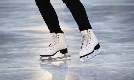 Open-Skate Admission with Skate Rental for Two or Four at IceTown (Up to 60% Off)