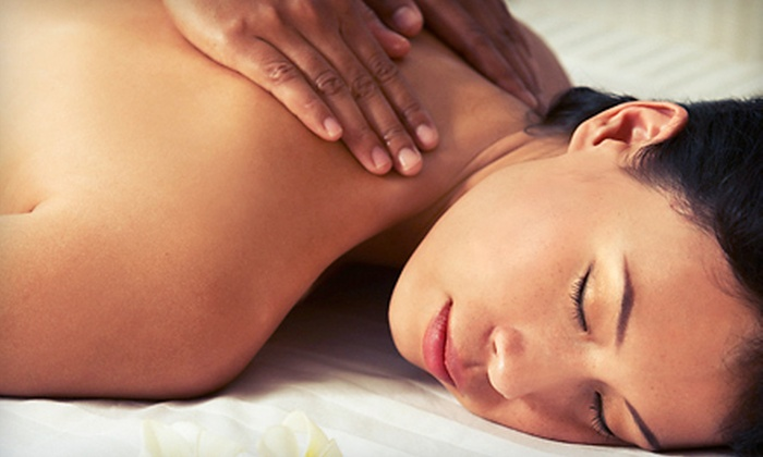 Caesar Spa - Multiple Locations: Spa Package with Back Massage and Microdermabrasion or Hydration Facial at Caesar Spa (Up to $175 Value)