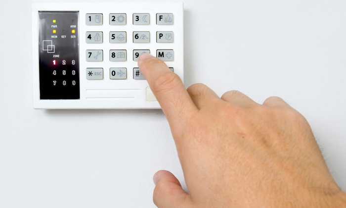 Home Security Nationwide Alarm System Groupon