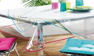 Nappe transparente en PVC