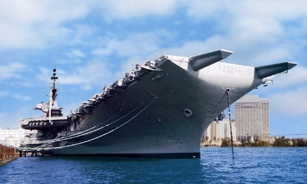One or Two Groupons, Each Good for Admission to USS Midway Museum (Up to 25% Off)