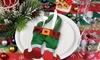 Christmas Elf Cutlery Holders