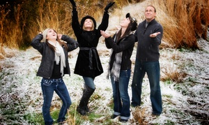 "B&B Photography: $49 for a Family or Children's Photo Shoot and an 11""x14"" Print at B&B Photography ($310 Value)"
