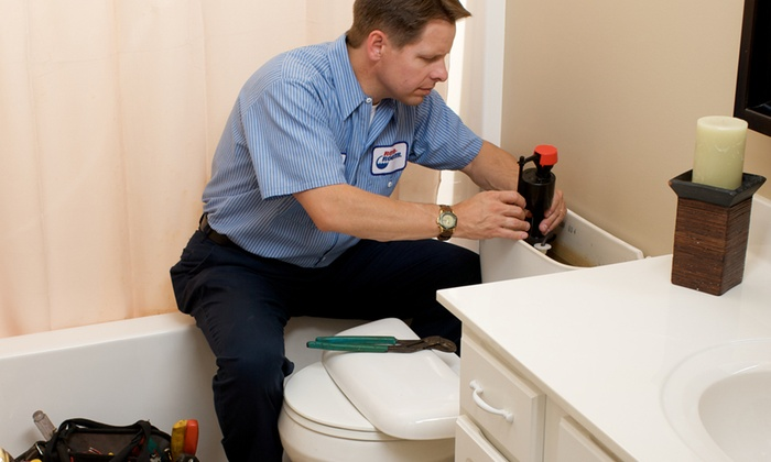 Roto-Rooter - Beaumont, TX: Toilet Rebuilding, Video-Camera Sewer Pipe Inspection, or $79 for $250 Worth of Plumbing Services from Roto-Rooter