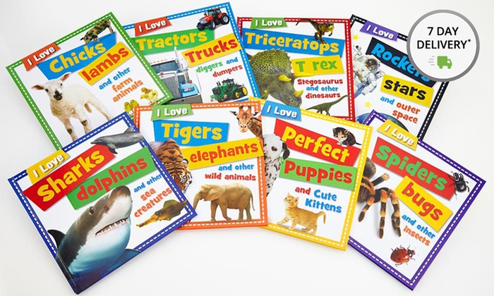 I Love Book Bundle for Kids: I Love Book Bundle for Kids. Free Shipping.