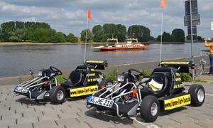 Hanse Kart Tour  c/o Heiser Events: 2 Std. geführte Überland-Karttour im Süden von Hamburg für 1 oder 2 Personen mit Hanse Kart Tour (bis zu 62% sparen*)
