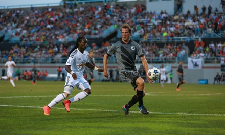 $27.50 for a Minnesota United FC Soccer Game Package with T-Shirt or Hat and Early Entry at NSC Stadium ($55 Value)