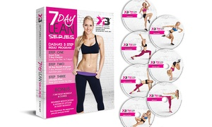 Kettlebell Kickboxing: Kettlebell Kickboxing DVD Sets Featuring Celebrity Trainer Dasha Libin (Up to 64% Off). Three Options Available.
