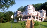 Hilltop Inn Overlooking Mississippi River and the Field of Dreams