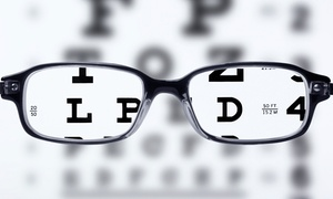 Erker's Fine Eyewear: Prescription Eyewear with Optional Eye Exam at Erker's Fine Eyewear (Up to 91% Off)